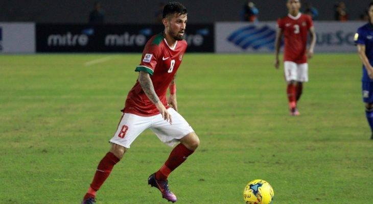 Ngôi sao tuyển Indonesia vắng mặt trận gặp Cambodia