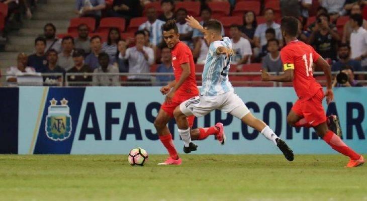 Singapore 0-6 Argentina: Dạo chơi ở đảo quốc sư tử