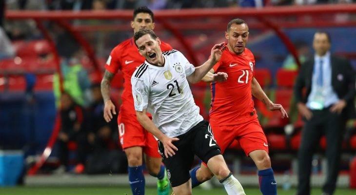 """Đức 1-1 Chile: Trận đấu """"45 phút"""""""