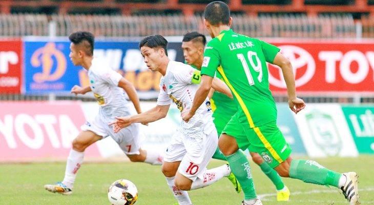 Vòng 15 V-League 2017: Mưa bàn thắng