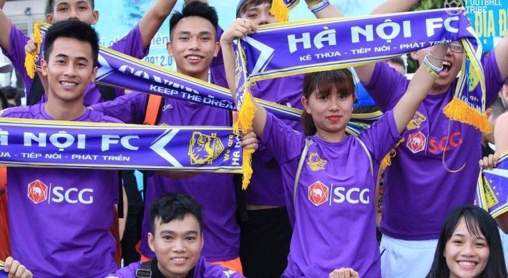 CHÙM ẢNH: Những sắc màu rực rỡ trước thềm đại chiến Hà Nội FC – Hải Phòng
