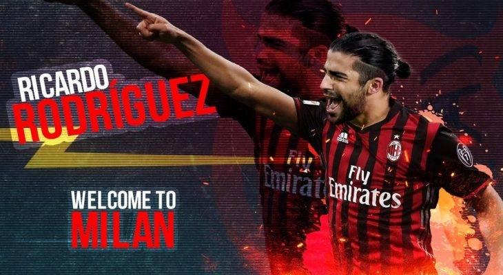 AC Milan chính thức có được chữ ký của Ricardo Rodriguez