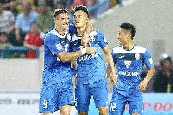 Than Quảng Ninh chiến thắng phút chót trước S. Khánh Hòa