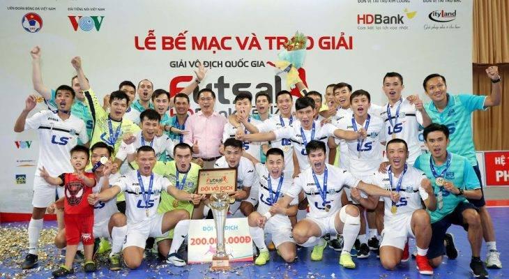 Giải futsal VĐQG 2017: Thái Sơn Nam đại thắng trong ngày trao cúp