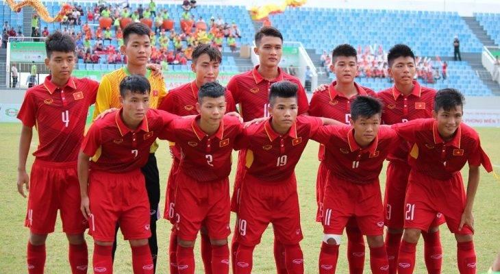 U16 Việt Nam thắng đậm Campuchia dù chỉ có 10 người