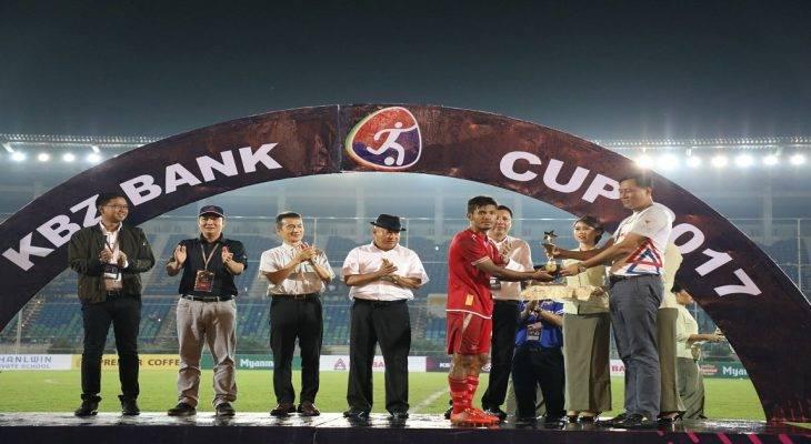 U22 Myanmar thất bại ở giải tứ hùng KBZ Bank Cup 2017