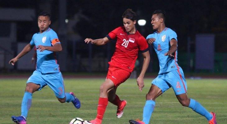 U23 Singapore thất bại trong trận giao hữu hướng đến SEA Games 29