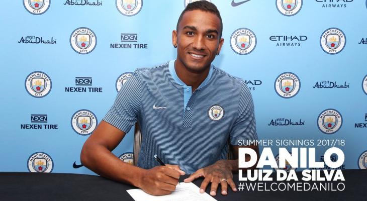 CHÍNH THỨC: Danilo trở thành người của Manchester City