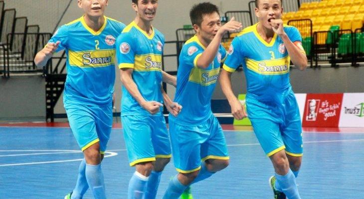 Giải futsal các CLB Đông Nam Á 2017: Sanna Khánh Hòa lần đầu vào chung kết