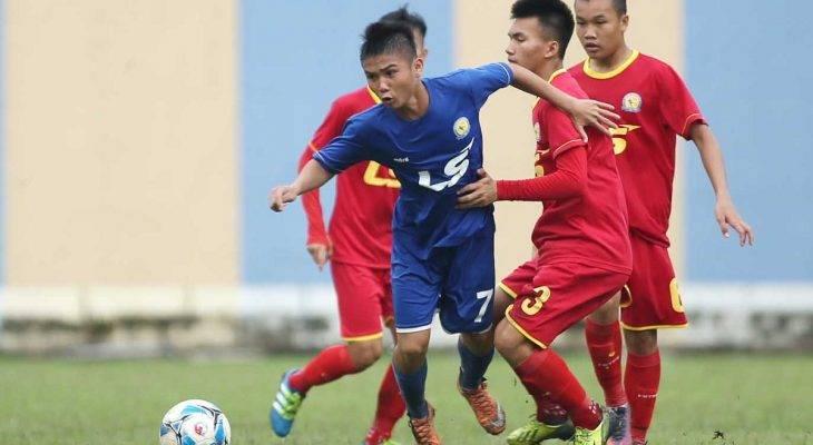 PVF vào bán kết giải U17 quốc gia