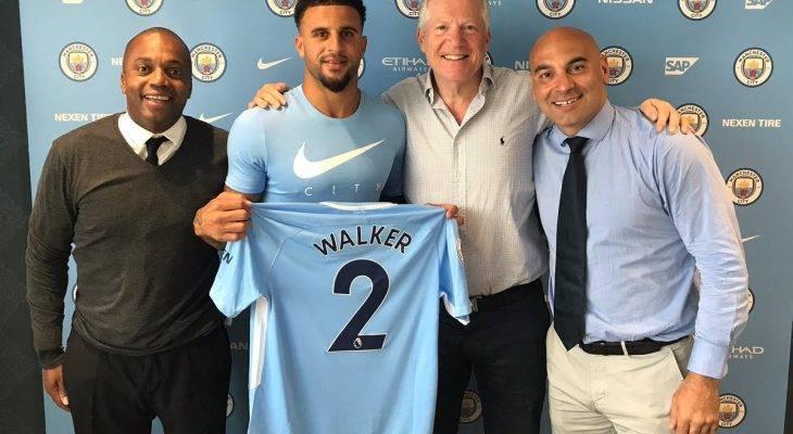 NÓNG: Manchester CIty chiêu mộ Kyle Walker