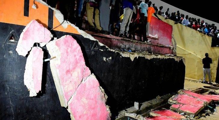 Senegal: Sập khán đài, 8 cổ động viên thiệt mạng