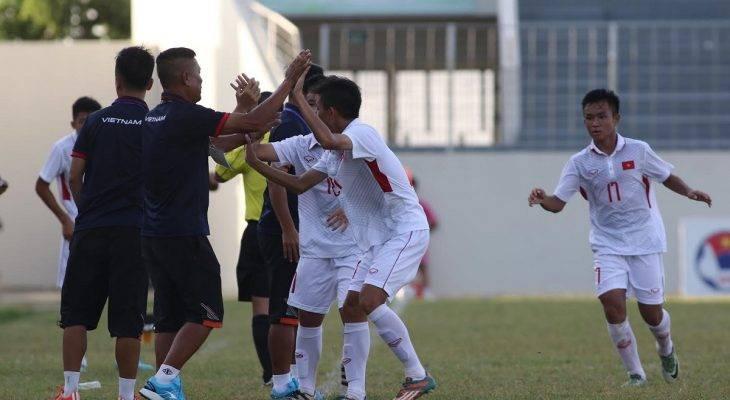 U15 Việt Nam lên đường dự giải vô địch Đông Nam Á 2017