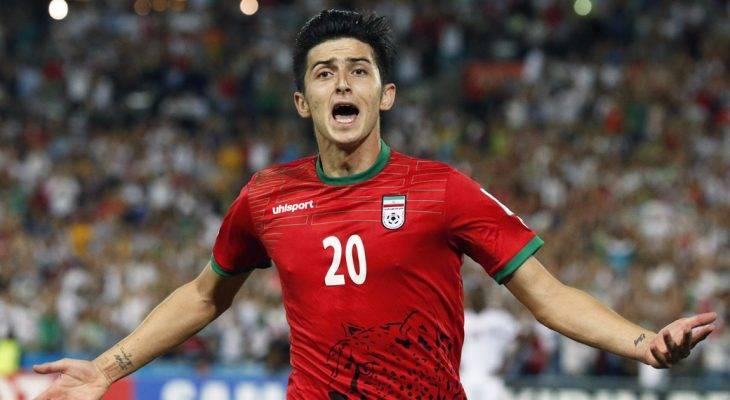 Sao trẻ Iran chuẩn bị gia nhập Lazio với giá kỷ lục