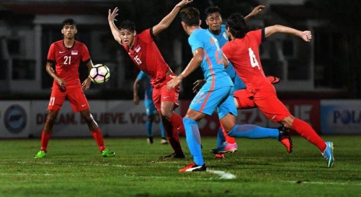 Nhật kí vòng loại U23 châu Á 2018: Thuyền trưởng U22 Singapore đặt mục tiêu giành vàng SEA Games