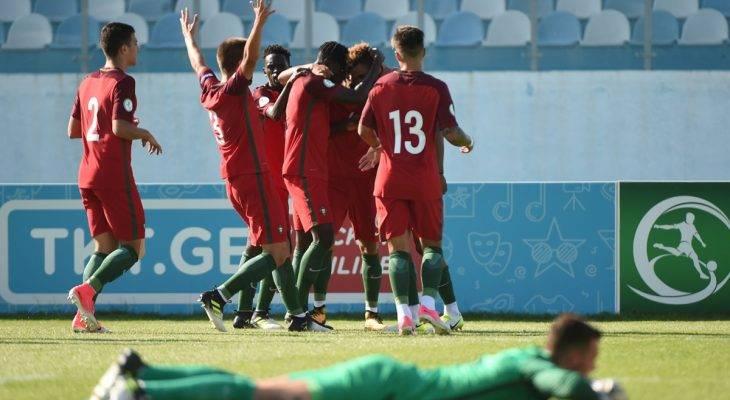 U19 châu Âu 2017: Bồ Đào Nha đối đầu Anh ở trận chung kết