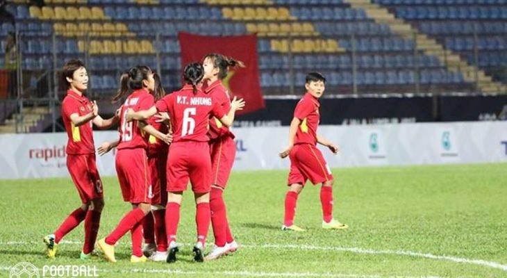 Nữ Việt Nam 6-0 Nữ Malaysia: HCV chính thức thuộc về Việt Nam