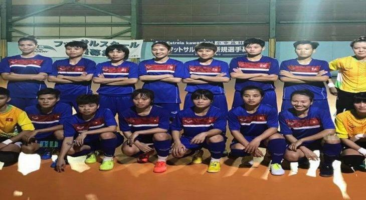 ĐT futsal nữ Việt Nam chốt danh sách dự SEA Games 29: Thái Sơn Nam Quận 8 làm nòng cốt