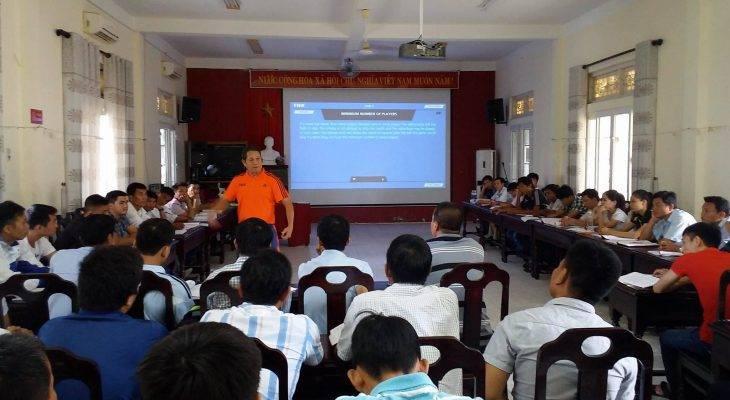 Khai giảng lớp tập huấn trọng tài bóng đá phong trào TT-Huế 2017