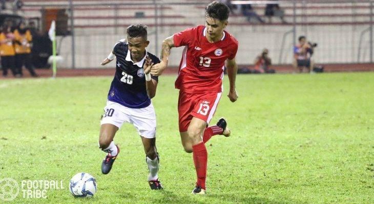 Hàng công kém sắc, U22 Campuchia thất thủ trước U22 Philippines