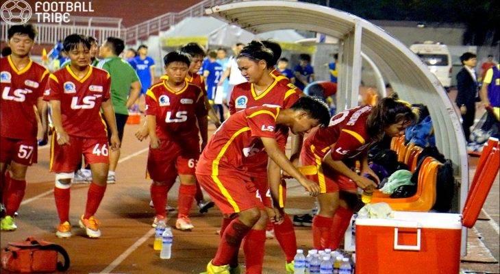Chùm ảnh: Lượt trận cuối lượt đi giải vô địch U19 nữ Quốc Gia 2017 suýt bị vỡ