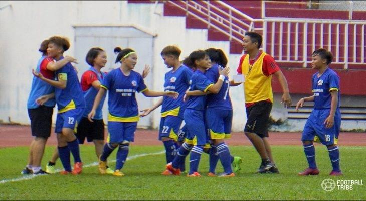 Chùm ảnh: Than KSVN vô địch giải U19 nữ VĐQG trước hai vòng đấu
