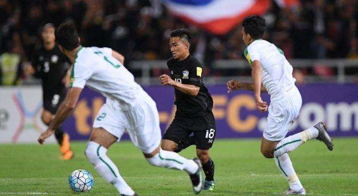 Vòng loại World Cup 2018: Thái Lan thất thủ trước Iraq trên sân nhà
