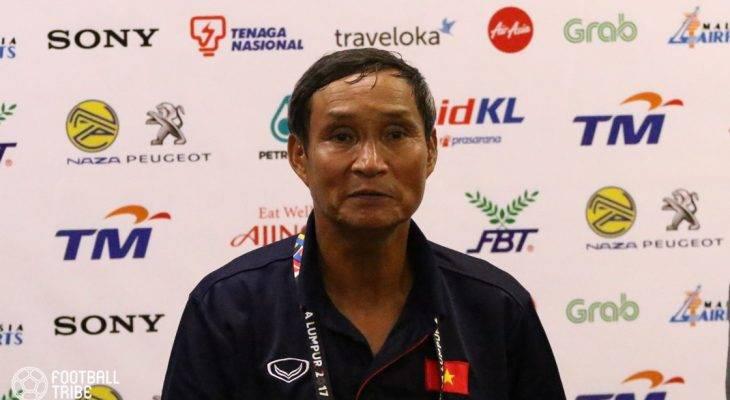 Thắng đậm, nhưng HLV Mai Đức Chung vẫn chưa hài lòng với các cầu thủ