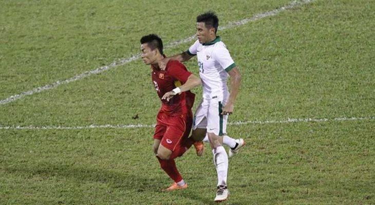 Cầu thủ Indonesia ân hận vì nhận thẻ đỏ