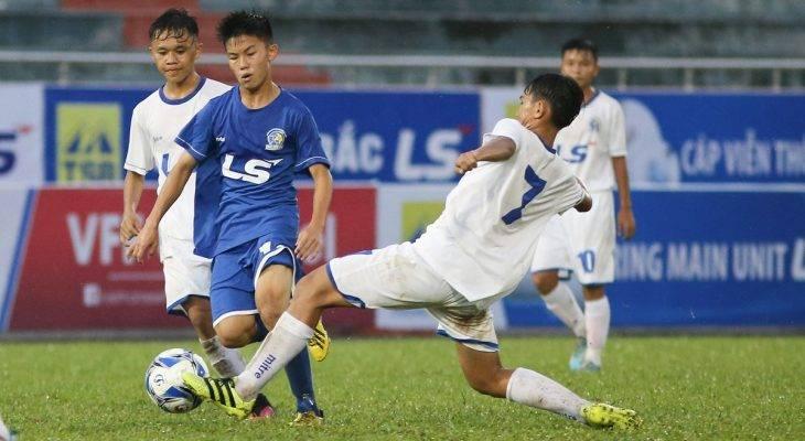 VCK U15 quốc gia – cúp Thái Sơn Bắc 2017 SLNA thắng đậm, HAGL chia điểm