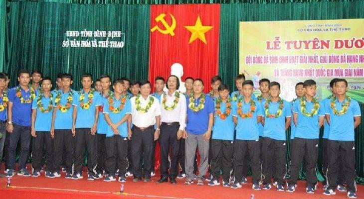 """Lên hạng thành công, Bình Định nhận """"mưa"""" tiền thưởng"""