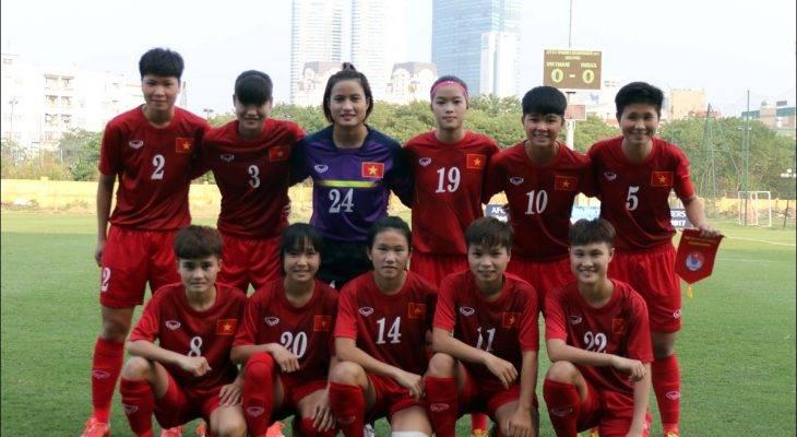 ĐT U19 nữ Việt Nam tập trung chuẩn bị cho VCK U19 nữ Châu Á 2017