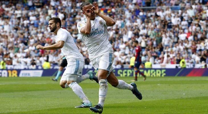 Chùm ảnh: Real Madrid bị Levante cầm hoà ngay tại Bernabeu