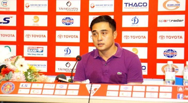 HLV Nguyễn Đức Thắng (Sài Gòn FC): Hài lòng về thể lực của cầu thủ