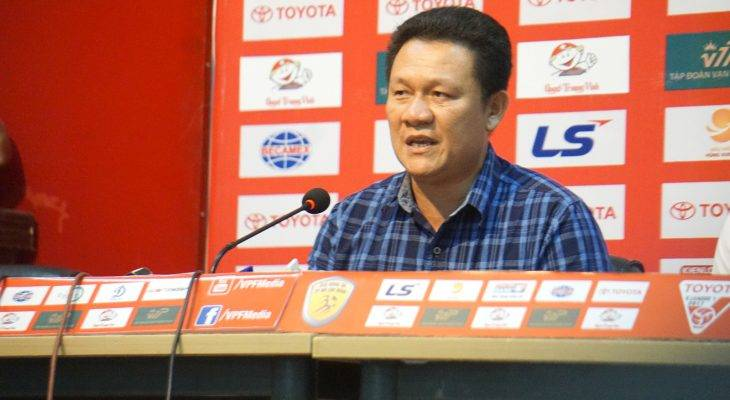 HLV Nguyễn Quốc Tuấn (HAGL): Cần xem lại băng ghi hình của trận đấu