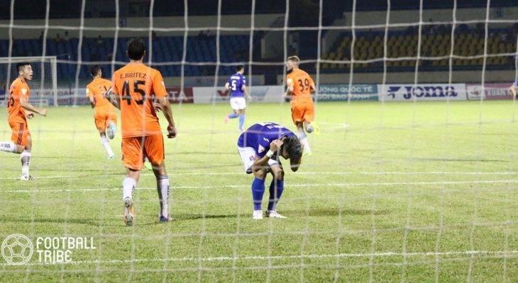 Chùm ảnh: Than Quảng Ninh 0-0 SHB.Đà Nẵng