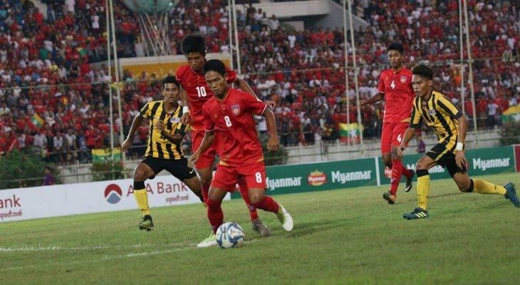U18 Myanmar 0-0 U18 Malaysia (pen. 4-5): Chủ nhà bị loại