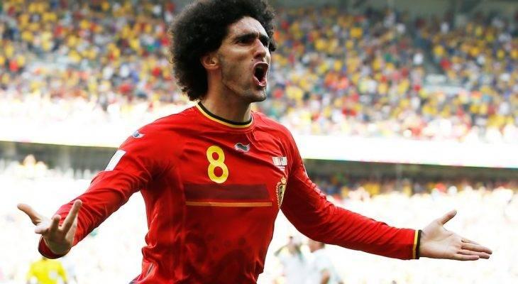 Fellaini được triệu tập lên tuyển Bỉ dù chấn thương