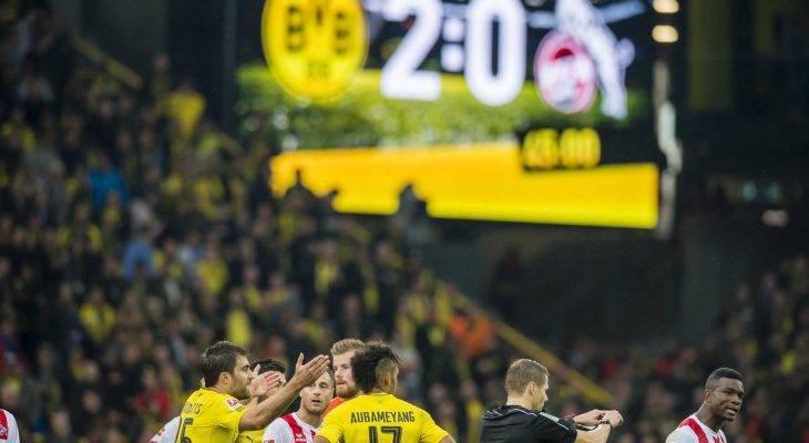 Cologne đòi đá lại với Dortmund vì bàn thua oan uổng