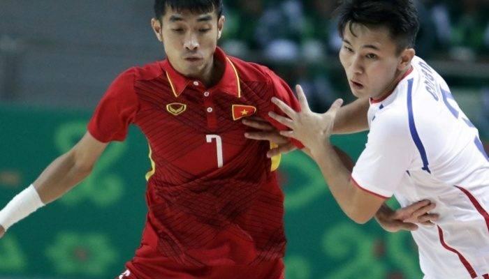 Futsal AIMAG 5: Việt Nam 8-0 Hong Kong (Trung Quốc)