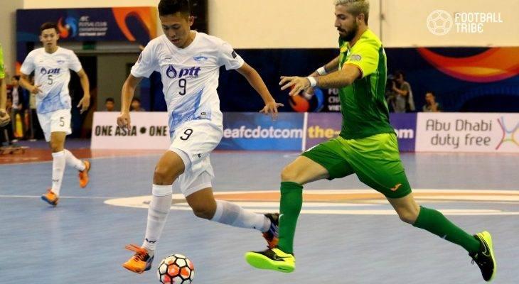 ĐT Futsal Thái Lan dự giải Futsal Đông Nam Á với đội hình hai