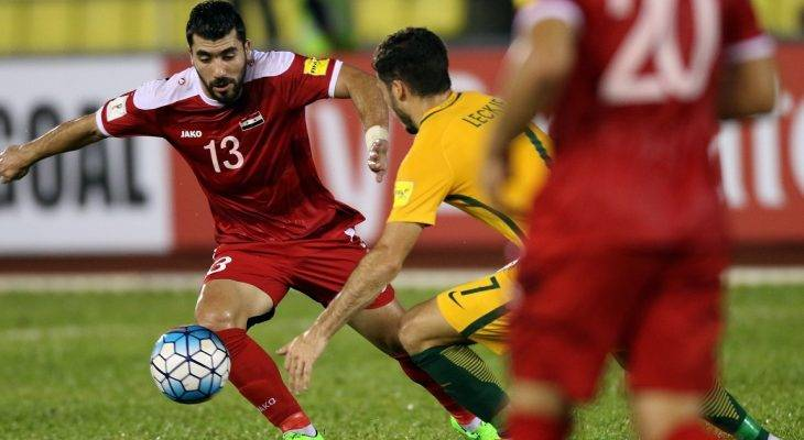 Syria 1-1 Australia: Al Soma mang hy vọng cho chủ nhà