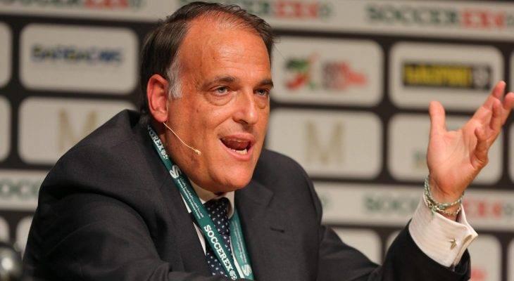 Chủ tịch La Liga tố cáo PSG, Man City gian lận tài chính