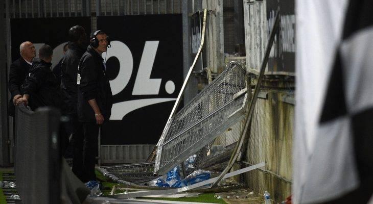 Sập khán đài ở Pháp, nhiều người bị thương
