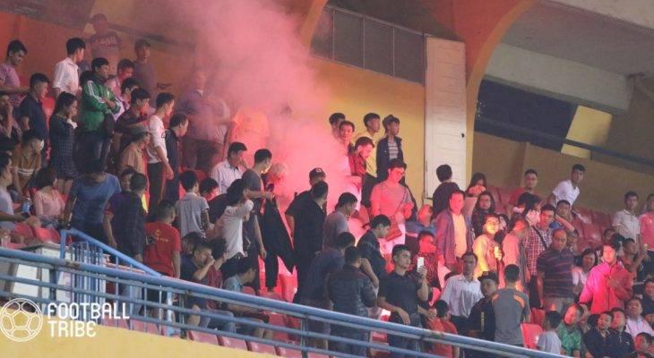 CĐV đốt pháo sáng ở vòng loại U23 châu Á, VFF bị phạt gần 1 tỷ đồng
