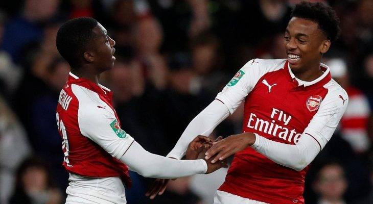 Arsenal và Man City gây tranh cãi tại Cúp LĐ Anh vì… thay người