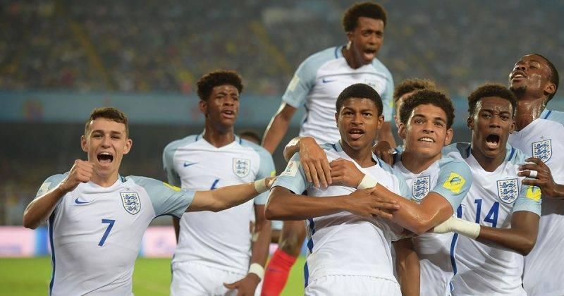 Những tài năng trẻ Anh