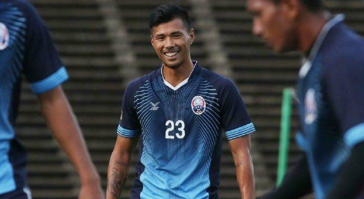 Tiền vệ Campuchia đặt mục tiêu chiến thắng ĐT Việt Nam