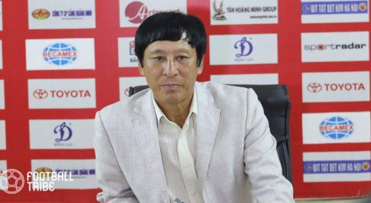 HLV Vũ Quang Bảo: 'Nam Định đã rất may mắn'