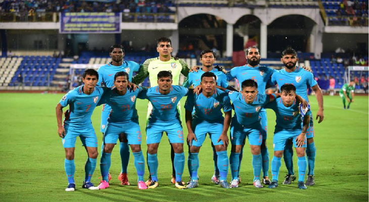 CHÍNH THỨC: ĐT Ấn Độ lọt vào VCK Asian Cup 2019
